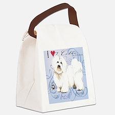 coton-tile Canvas Lunch Bag
