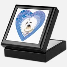 coton-heart Keepsake Box