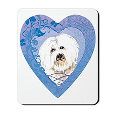 coton-heart Mousepad