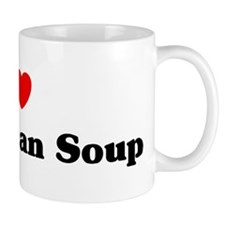 I love Black Bean Soup Mug