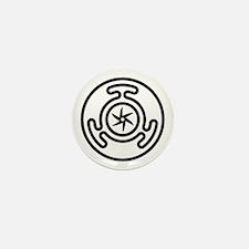 Hecate's Wheel Mini Button