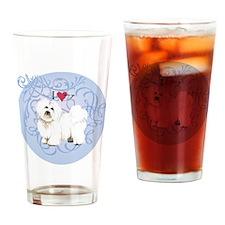 coton-charm2 Drinking Glass