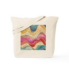Cute Wavy Pattern Tote Bag