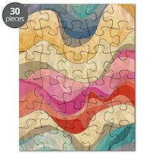 Cute Wavy Pattern Puzzle