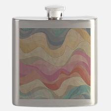 Cute Wavy Pattern Flask