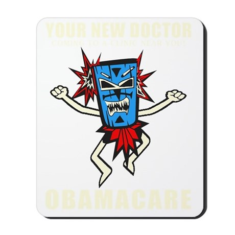 Your New Doctor Mousepad
