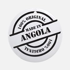 Made in Angola Round Ornament