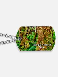 Hoh Rainforest Dog Tags