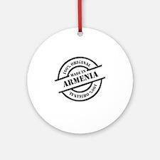 Made in Armenia Round Ornament