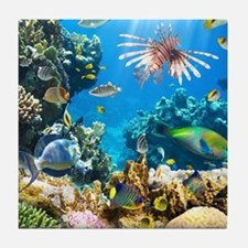 Sea Life Tile Coaster