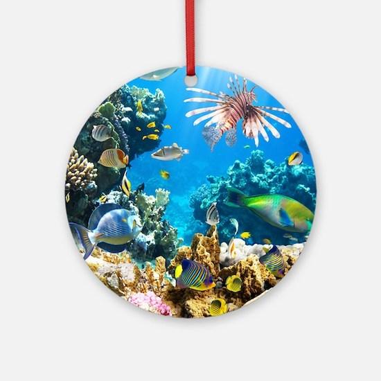 Sea Life Round Ornament