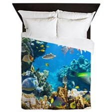 Sea Life Queen Duvet