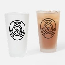 Hecate's Wheel Drinking Glass