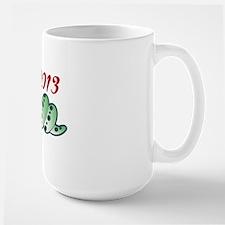 2013 - YEAR OF THE SNAKE Large Mug