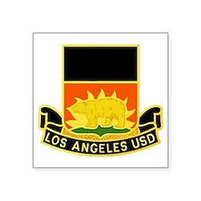"""Abraham Lincoln HS LAUSD, L Square Sticker 3"""" x 3"""""""