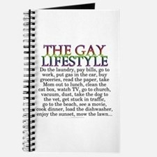 The gay lifestyle (unlined journal)