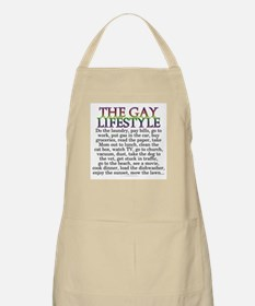 The gay lifestyle (BBQ apron)