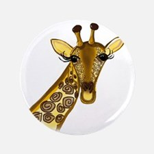 "Giraffe - ZooWhirlz  3.5"" Button"