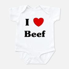 I love Beef Onesie