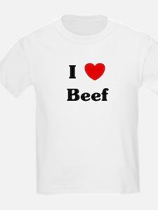 I love Beef T-Shirt