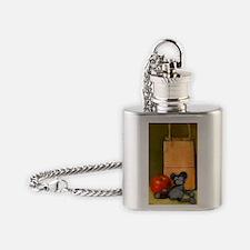 lazy Mickey Flask Necklace