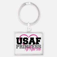 USAF PRINCESS Landscape Keychain