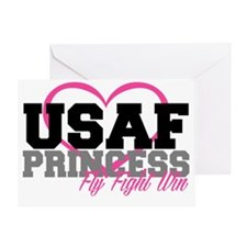 USAF PRINCESS Greeting Card