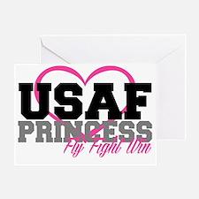 USAF PRINCESS Greeting Card