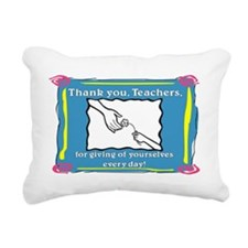 Thank you Teachers Rectangular Canvas Pillow
