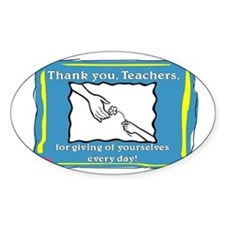 Thank you Teachers Decal