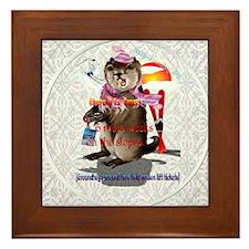 Decisions-Decisions-Groundhog Day Framed Tile