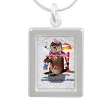 Decisions-Decisions-Grou Silver Portrait Necklace