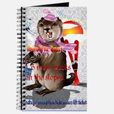 GREETING CARDS Groundhog Day-6 more weeks Journal