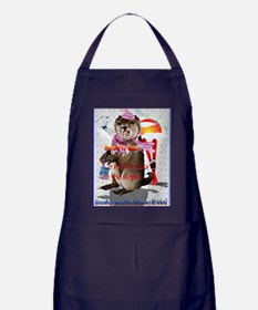 GREETING CARDS Groundhog Day-6 more w Apron (dark)