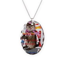 GREETING CARDS Groundhog Day-6 Necklace