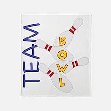 Team Bowl Throw Blanket