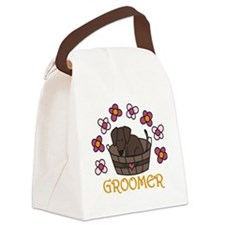 Groomer Canvas Lunch Bag