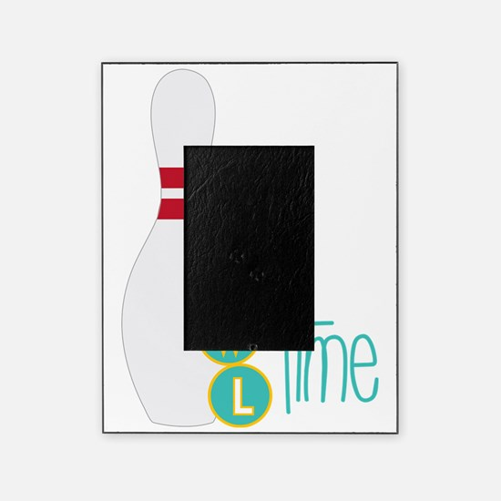 Bowl Time Picture Frame