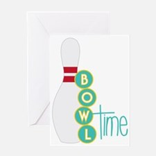 Bowl Time Greeting Card