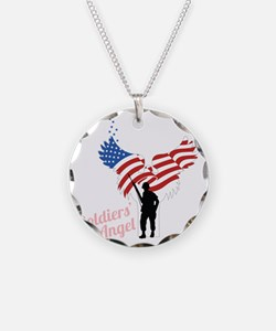 Soldier's Angel Necklace