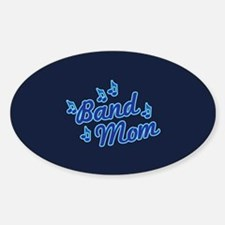 Band Mom Sticker (Oval)