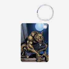 Werewolf Aluminum Photo Keychain