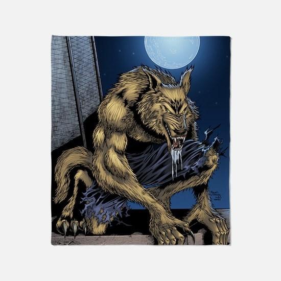 Werewolf Throw Blanket