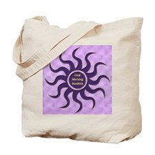 sun purple gm Tote Bag