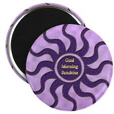 sun purple gm Magnet
