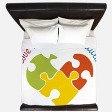 Someone With Autism King Duvet