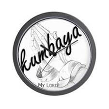 Kumbaya (My Lord) Wall Clock