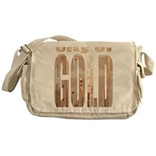 city of gold logo Messenger Bag