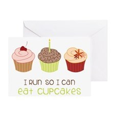 Eat Cupcakes Greeting Card