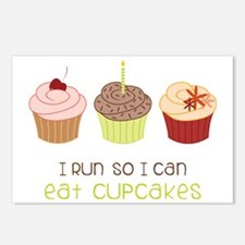 Eat Cupcakes Postcards (Package of 8)
